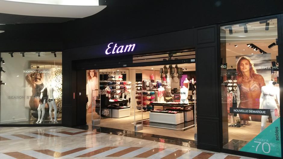 magasin en ligne 47579 90d0b Etam Lingerie - Retail (Boutique) - DBS - Études, Agencement ...