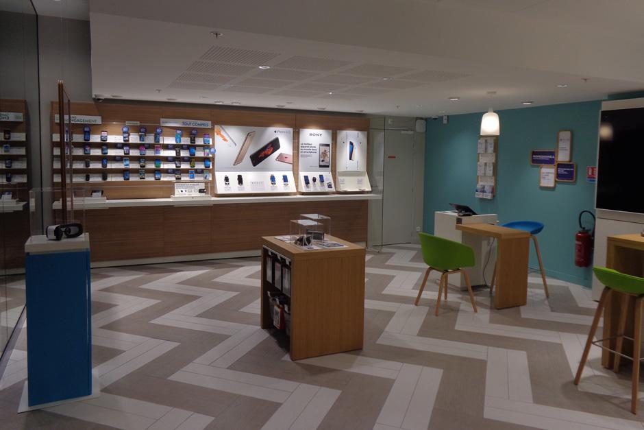Bouygues telecom retail boutique dbs tudes for Carrelage pontault combault